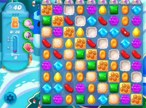candy crush soda level 666