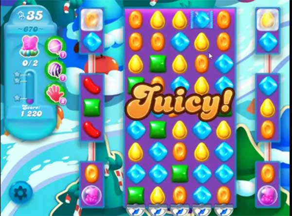 candy crush soda level 670