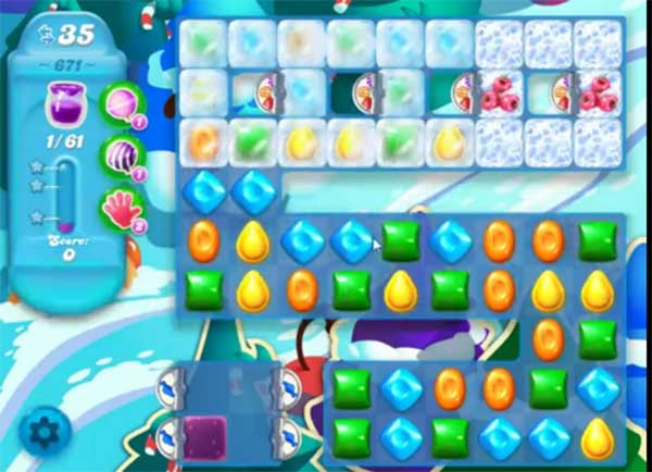 candy crush soda level 671