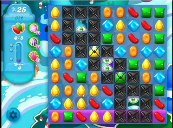 candy crush soda level 672