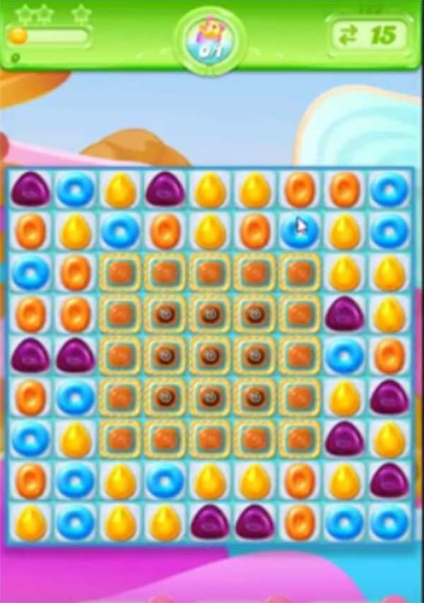 candy crush jelly level 125