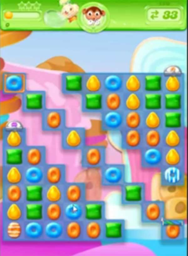 candy crush jelly level 126
