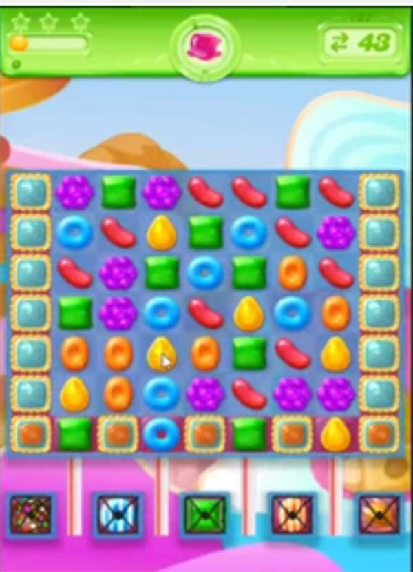 candy crush jelly level 127