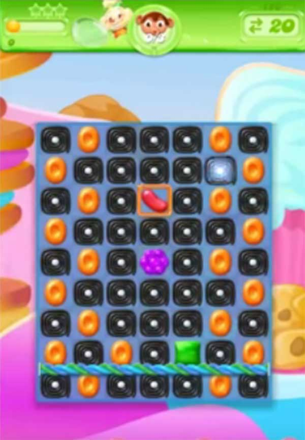 candy crush jelly level 128