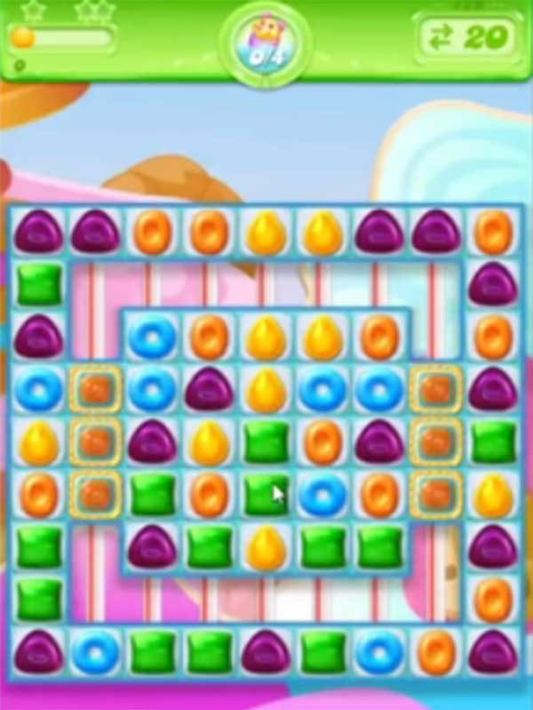 candy crush jelly level 129