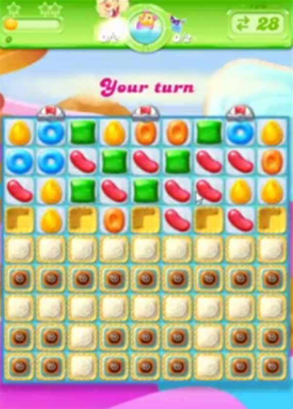 candy crush jelly level 130