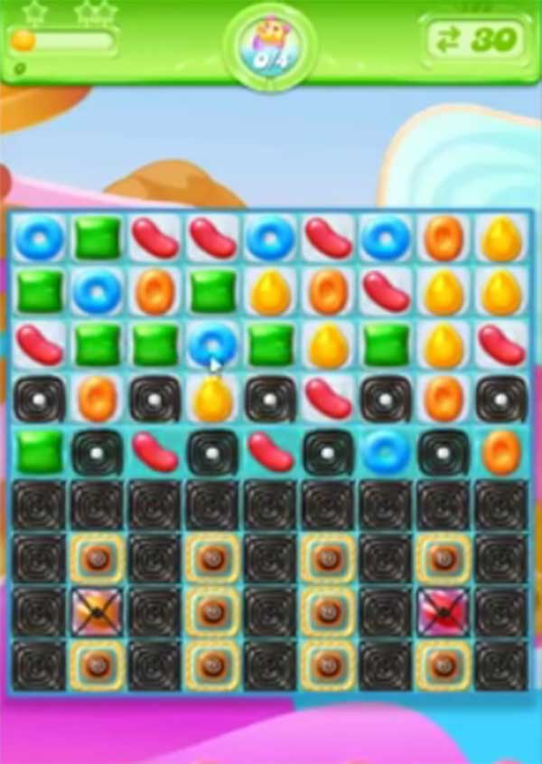 candy crush jelly level 132