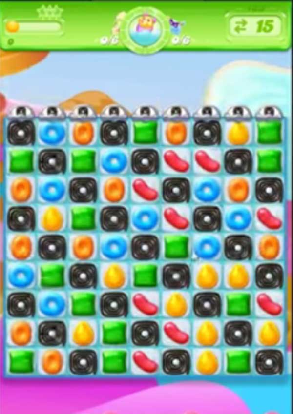 candy crush jelly level 133