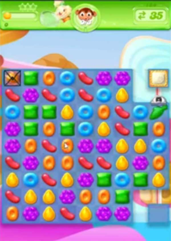 candy crush jelly level 134