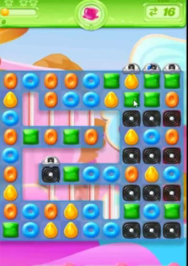 candy crush jelly level 135