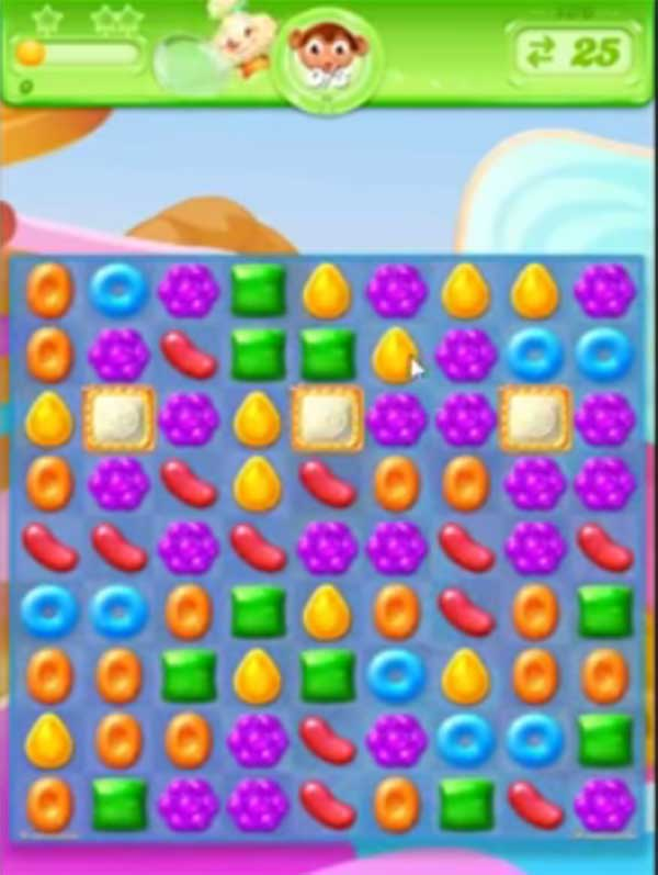 candy crush jelly level 136