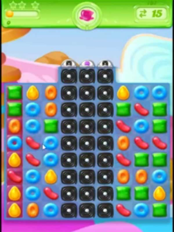 candy crush jelly level 137