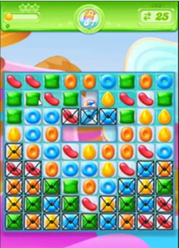 candy crush jelly level 143