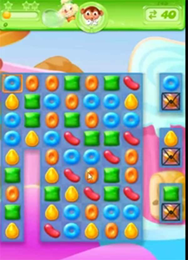 candy crush jelly level 144