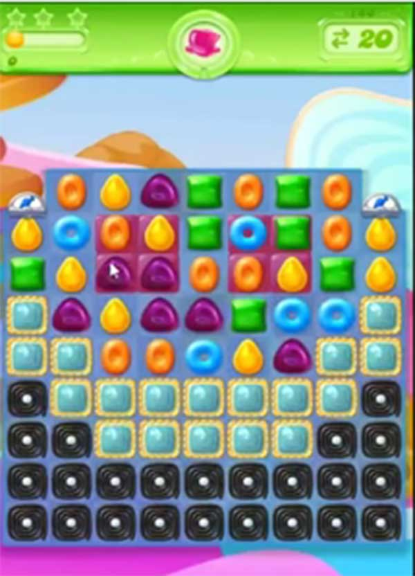 candy crush jelly level 145