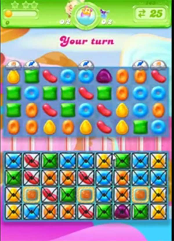 candy crush jelly level 146
