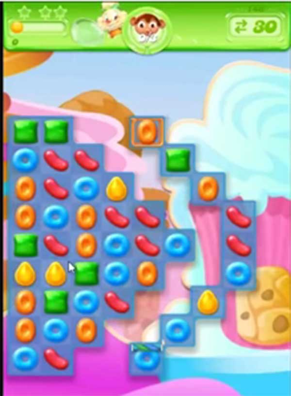 candy crush jelly level 147