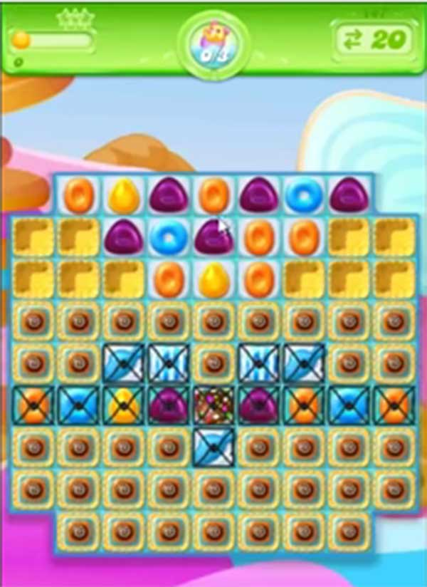 candy crush jelly level 148