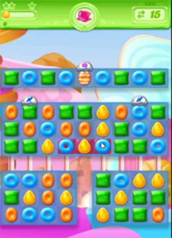 candy crush jelly level 151