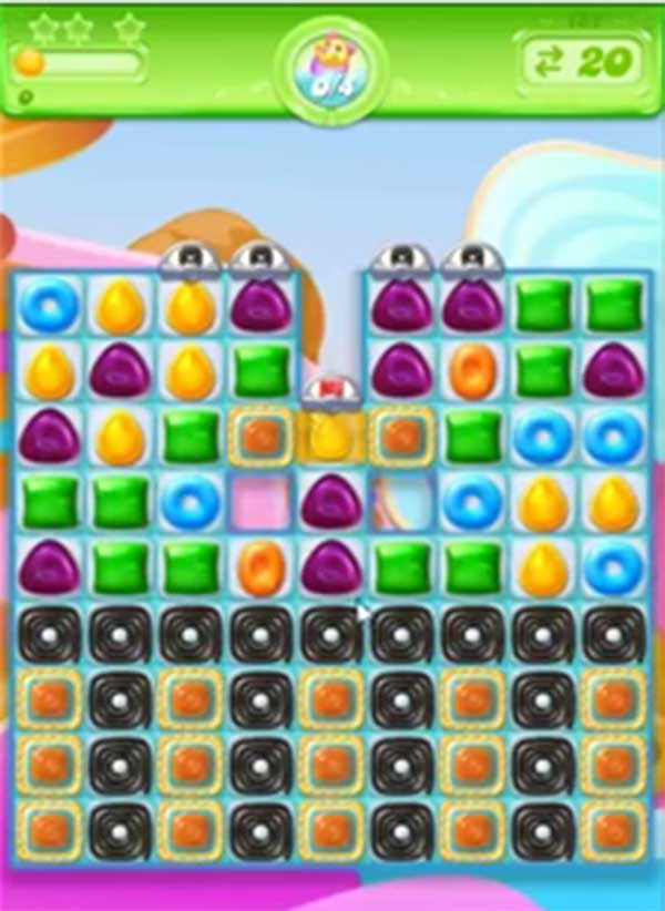 candy crush jelly level 152