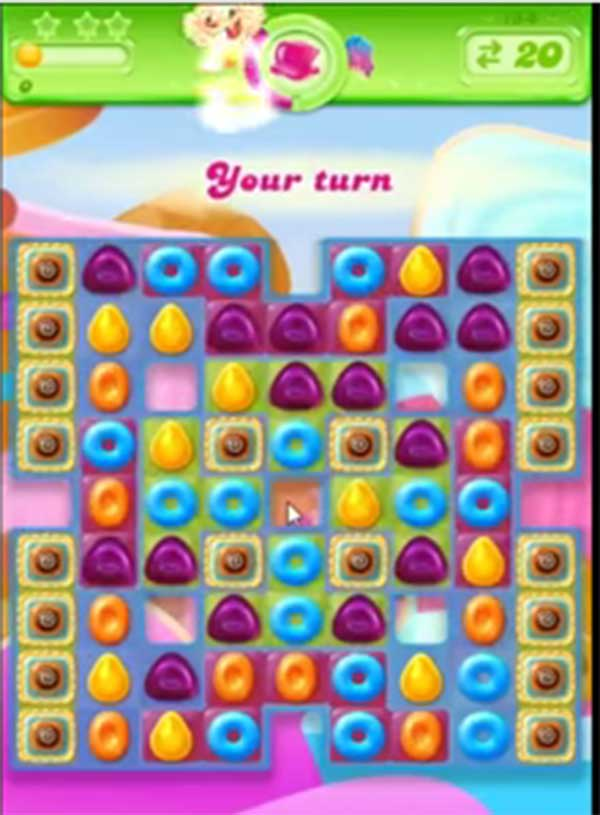 candy crush jelly level 155