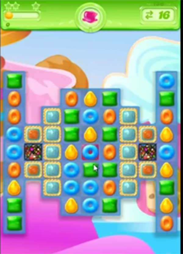 candy crush jelly level 157