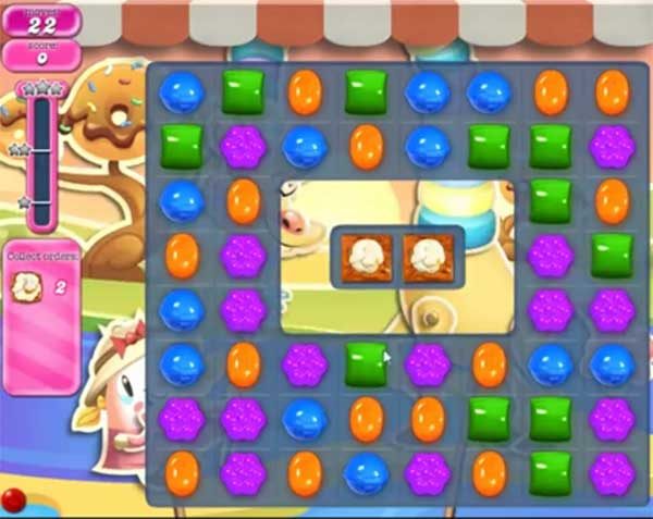 candy crush level 1564