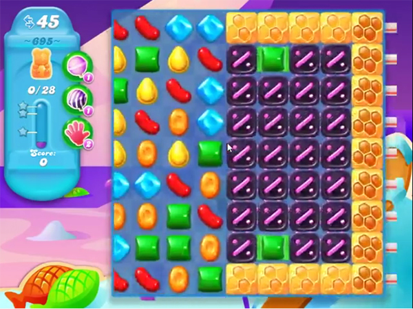 candy crush soda level 695