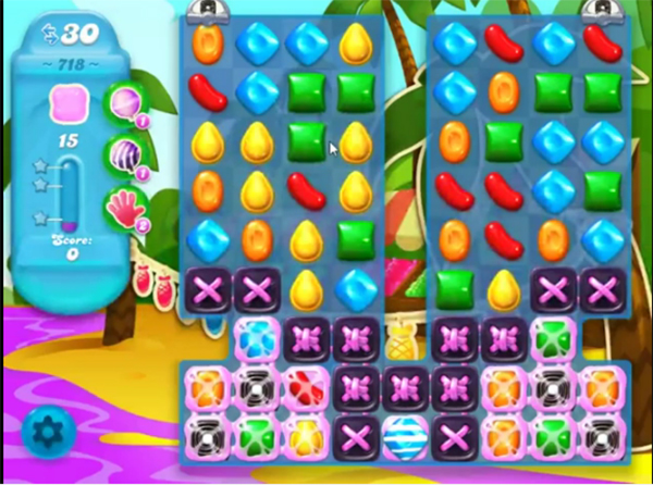 candy crush soda level 718