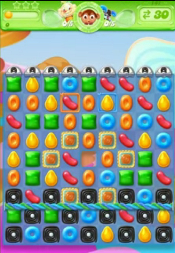 candy crush jelly level 141