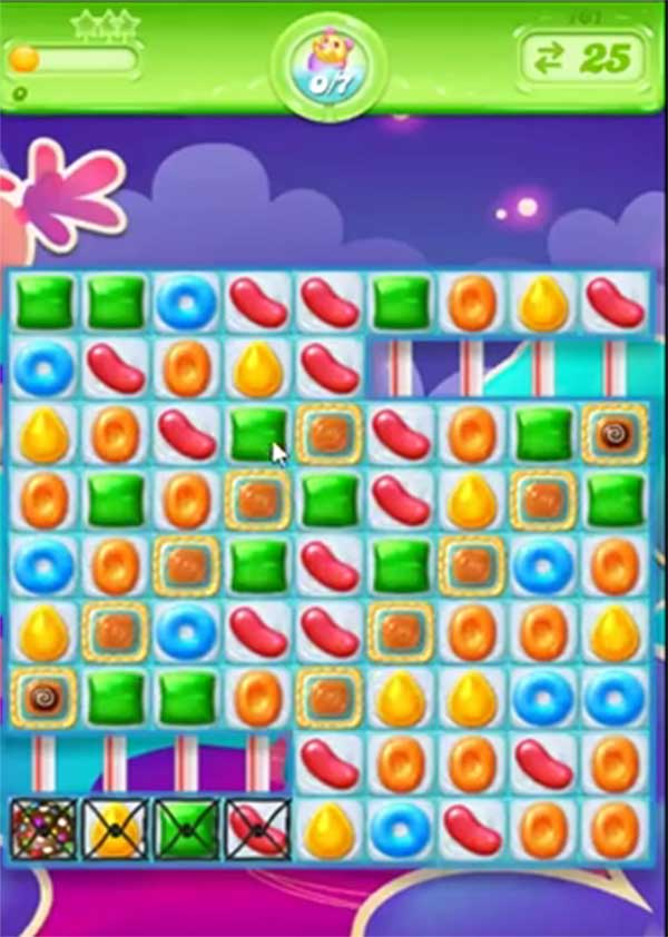 candy crush jelly level 161