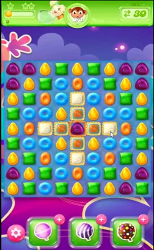 candy crush jelly level 162