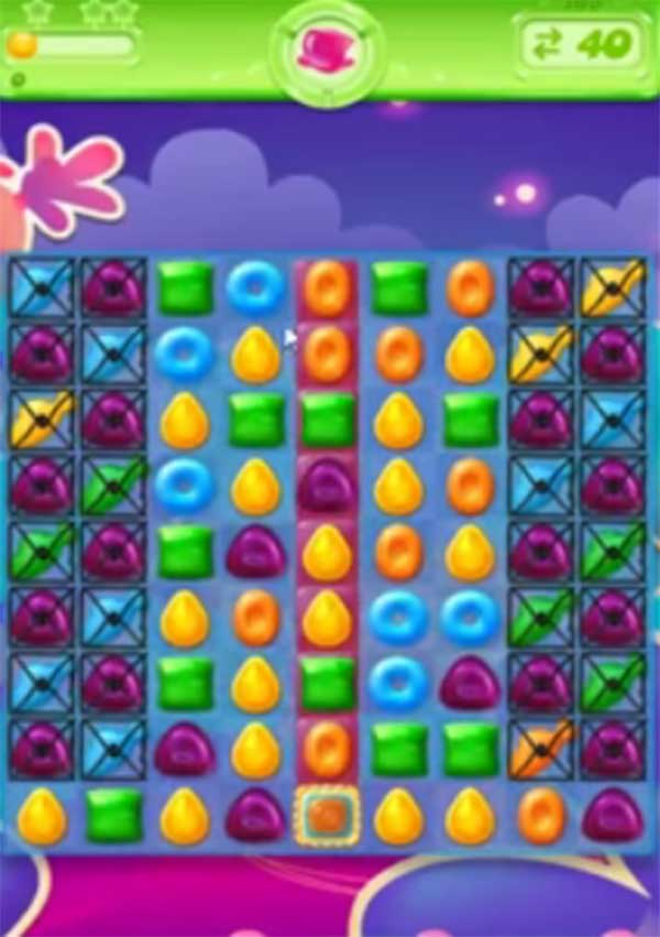 candy crush jelly level 165