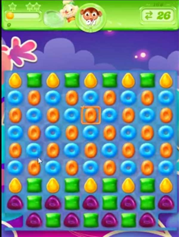 candy crush jelly level 168