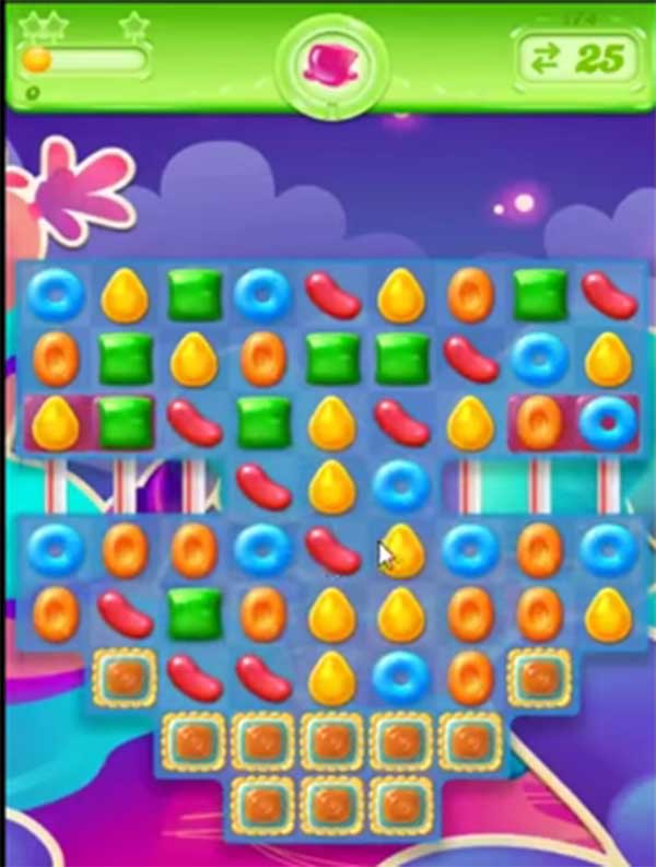 candy crush jelly level 174