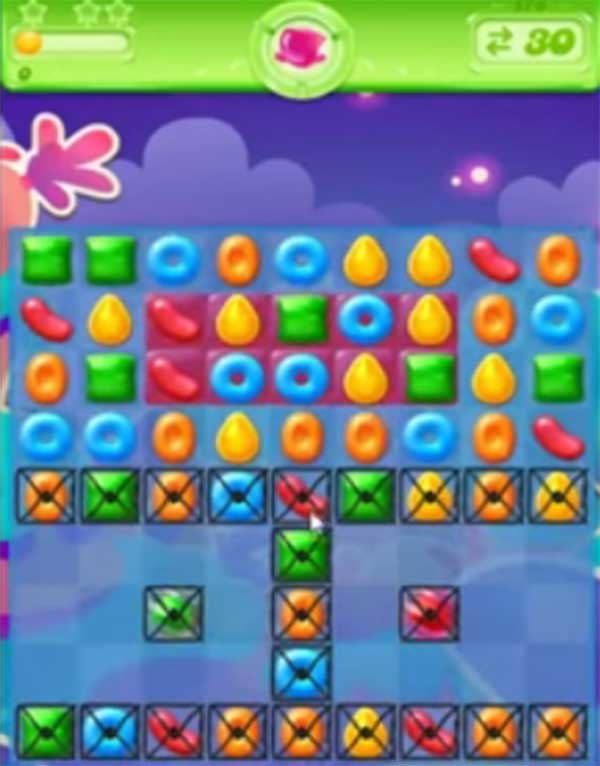 candy crush jelly level 178