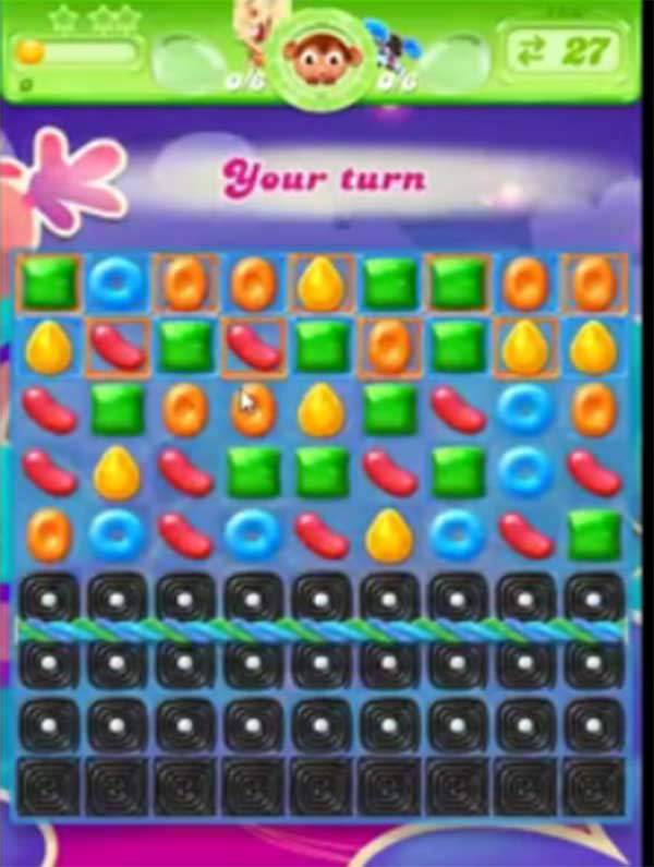 candy crush jelly level 180