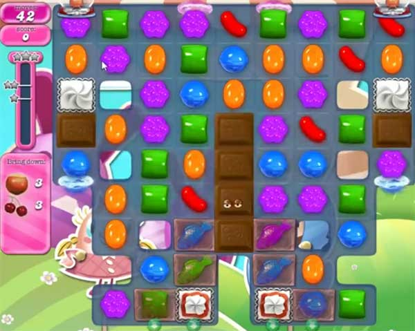 candy crush level 1587