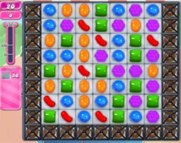 candy crush level 1596