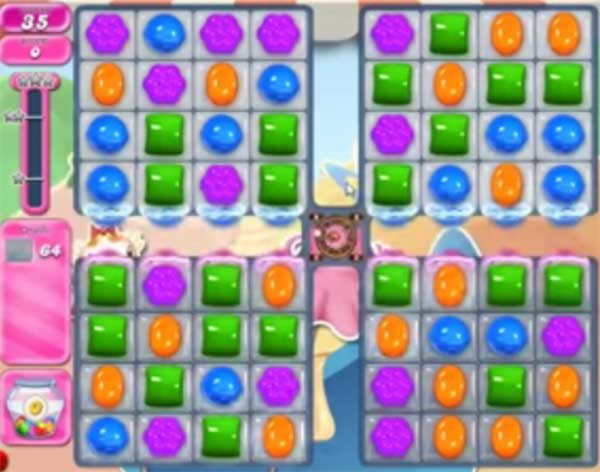 candy crush level 1599