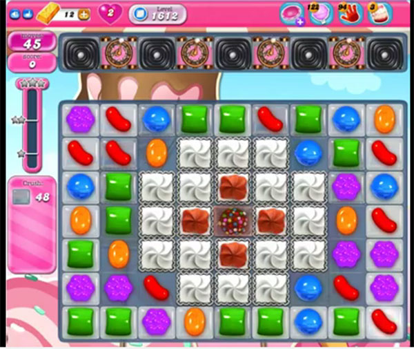 candy crush level 1612