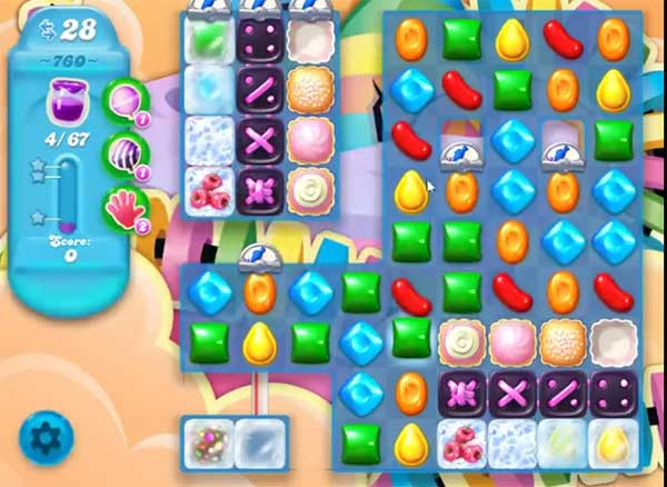 candy crush soda level 760