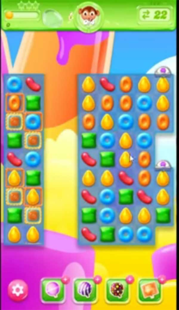 candy crush jelly level 182
