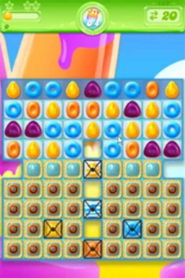 candy crush jelly level 183