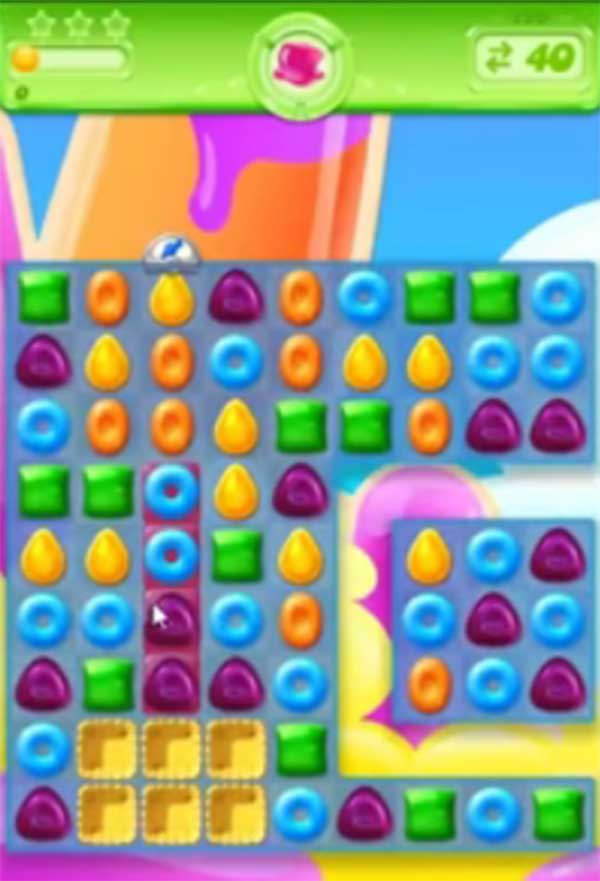 candy crush jelly level 186