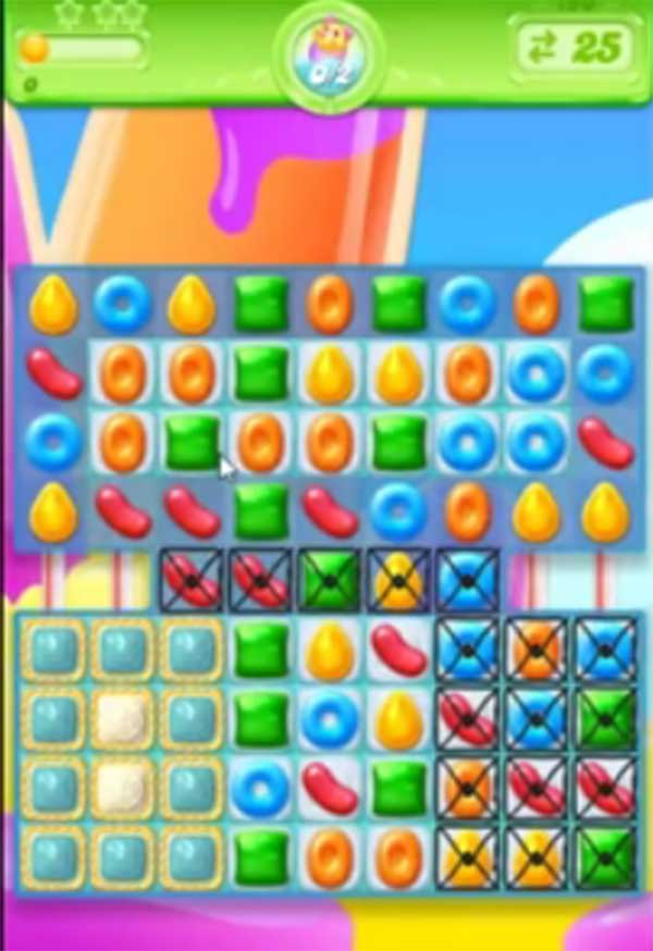 candy crush jelly level 190