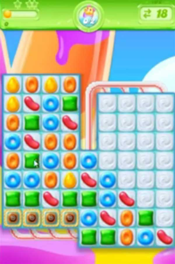 candy crush jelly level 192