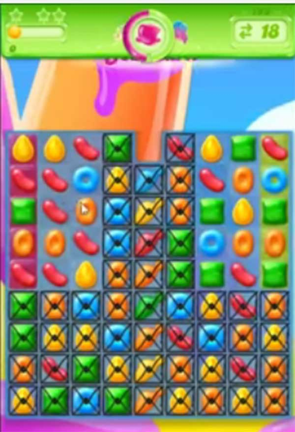 candy crush jelly level 193