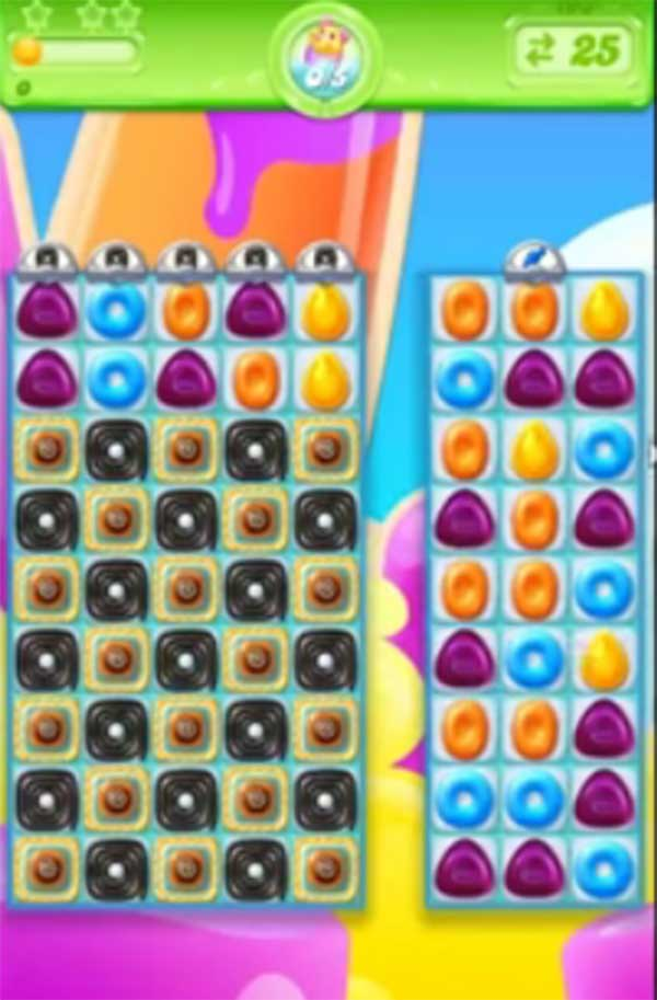 candy crush jelly level 195