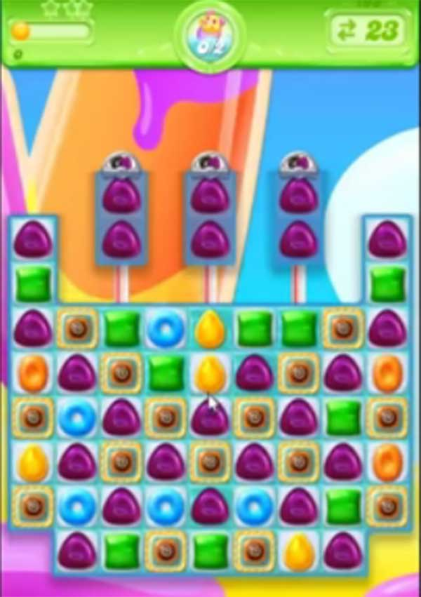 candy crush jelly level 198